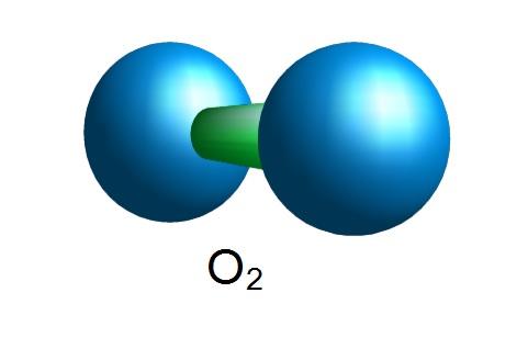 Sauerstoffmolekül