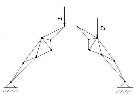 aufbau eines fachwerks technische mechanik 1 statik